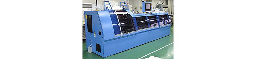 ミューラー・マルティニ社 最新自動糸かがり機